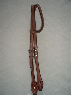 Split ear headstall