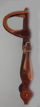 Cattleman´s headstall two-colour