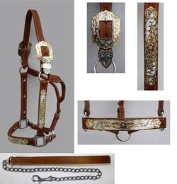 """Premium"" Show Halter, medium brown"