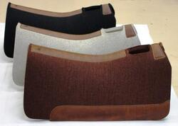 5 Star Wool Horse Contour Western Pad