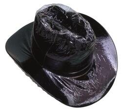 Clear Plastic Western Hat Protector