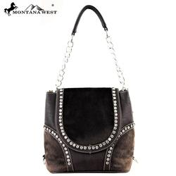 Faux-Fur Collection Handbag