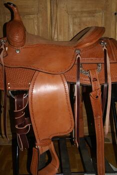 Dale Chavez Cowhorse Saddle  SOLD
