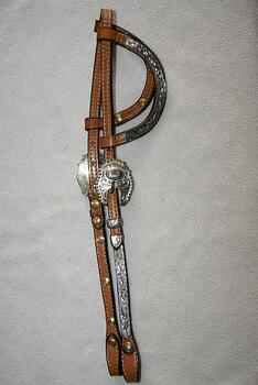 Dale Chavez Headstall 1198
