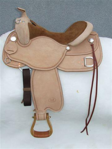 Wild West Training Saddle