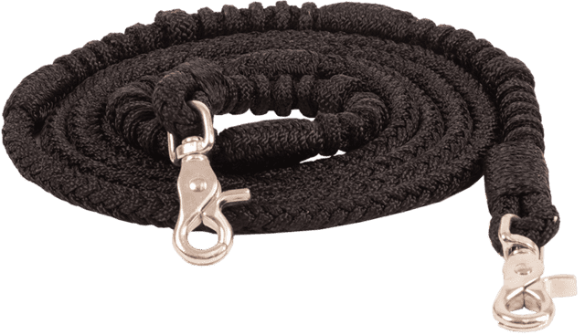 BRAIDED POLY CONTEST REINS