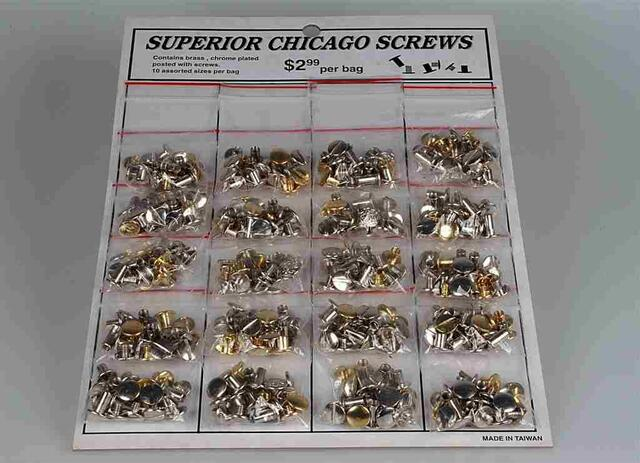 Chicago screw set