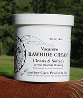 Vaquero Rawhide Cream - Cleans & Softens