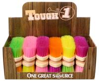 Soft Poly Bristle Brush Bright Colors
