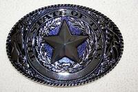 Belt Buckle Texas Star