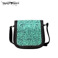 Trinity Ranch Tooled Design Collection Handbag