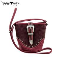Trinity Ranch Buckle Design Handbag